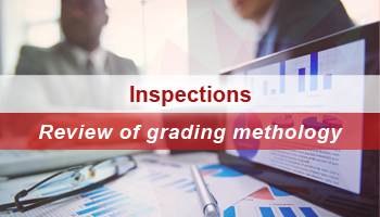Inspections – Review of grading methodology