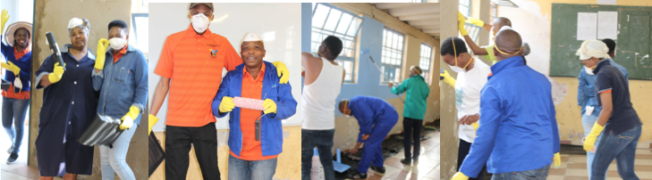 SAPC intervenes in community during Nelson Mandela Day
