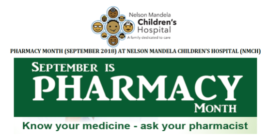 Use Medicines Wisely – Pharmacy Month Feedback - September 2018