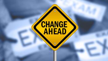 Changes - Exam 2015